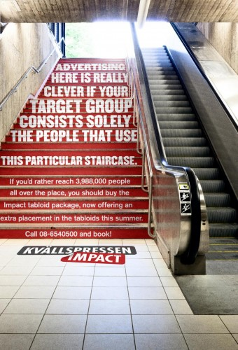 kvallspressen-impact-a-really-unalternative-media-stairs-justcreativeads
