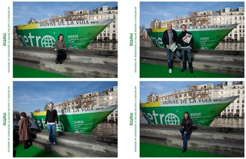 The brand was subsequently transformed into photocall to enable its readers to say goodbye to the newspaper, a picture