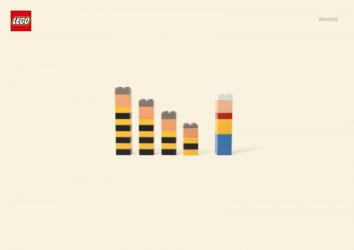 LEGO: Southpark, Ninja Turtles, Ernie And Bert, Donald Duck, Lucky Luke And The Daltons, Asterix And Obelix, The Smurfs, The Simpsons