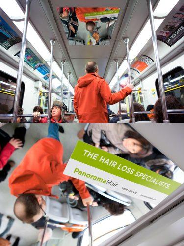 Panorama Hair: Transit Ad