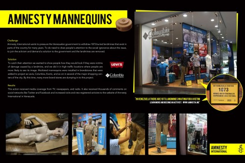 Amnesty International: Mannequins