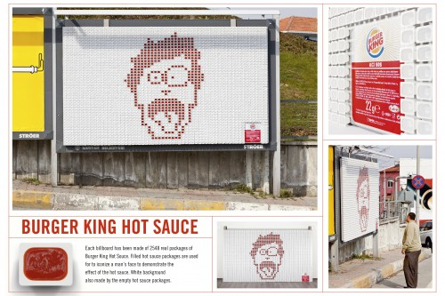 Burger King: Hot sauce