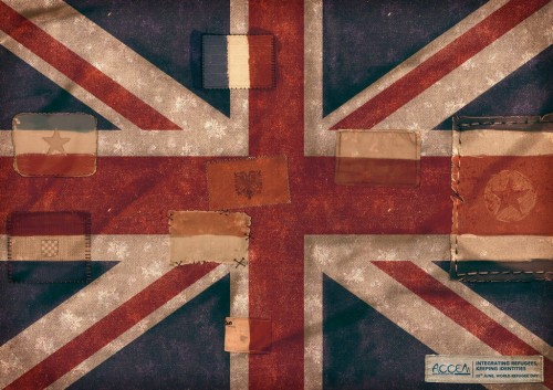 ACCEM: USA Flag, UK Flag