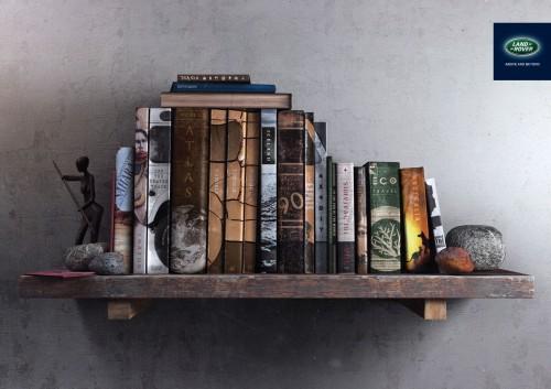 Land Rover: Bookshelf