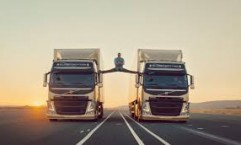 Volvo Trucks: The Van Damme Epic Splits Stunt