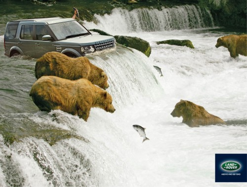 Land Rover: Salmon Fishing