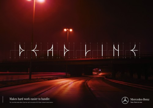 Mercedes-Benz: Shiftography