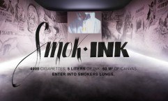 Humanitas Cancer Center Anti Smoking Campaign: Smok-Ink