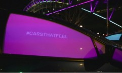 Vivid Light Festival: Cars That Feel Installation
