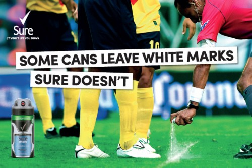 Unilever: Some cans leave white marks sure