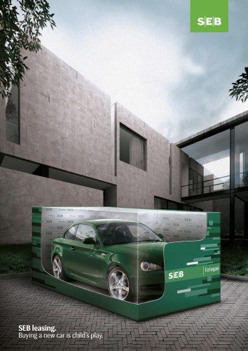 SEB Bank Leasing: Toy Car
