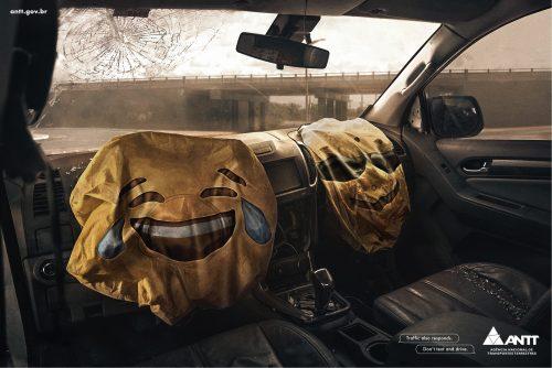 Agência Nacional de Transportes Terrestres: Emojis