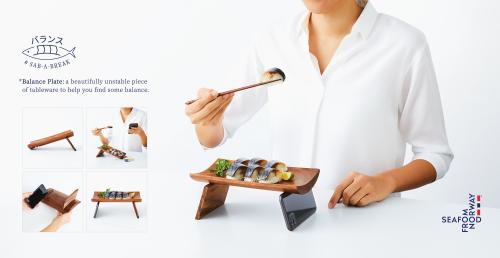 Norwegian Seafood Council Baransu Sara: The Unstable Tableware