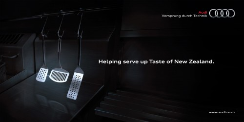 Audi NZ: Taste of New Zealand Sponsorship