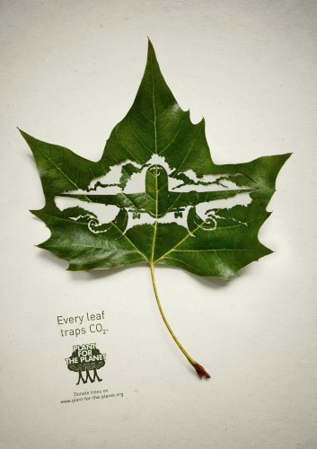 Plant for the planet: Traffic, Plane, Factory