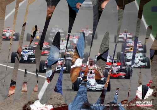 Reporters Without Borders : Vroooar Bahrain