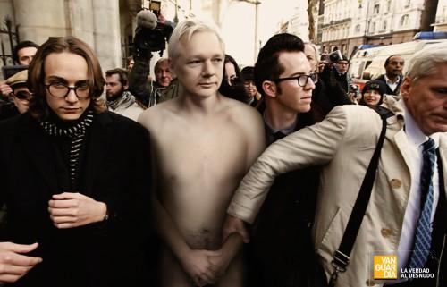 Vanguardia Magazine: Obama, Julian, Mahmoud