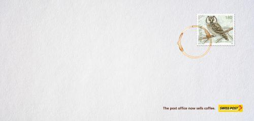 Swiss Post: Coffeestamp