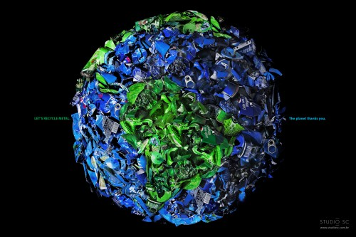 Save the Planet: Plastic, Glass, Paper, Metal