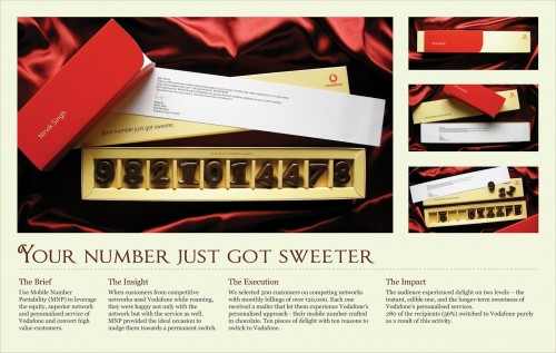 Vodafone: Your number just got sweeter