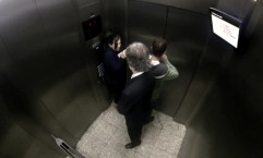 Space Channel: Frightening October, Elevator