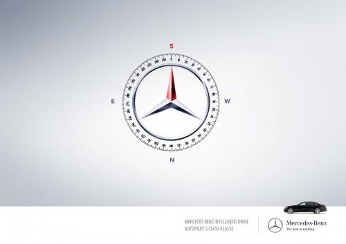 Mercedes Benz Intelligent Drive Autopilot S Class Klasse: Autopilot