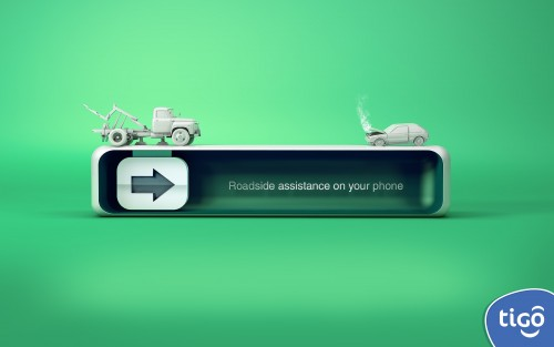 Roadside assistance on your phone.