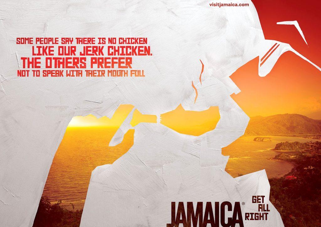 Jamaica Tourist Board: Wedding, Chciken,  Scuba, Waterfall