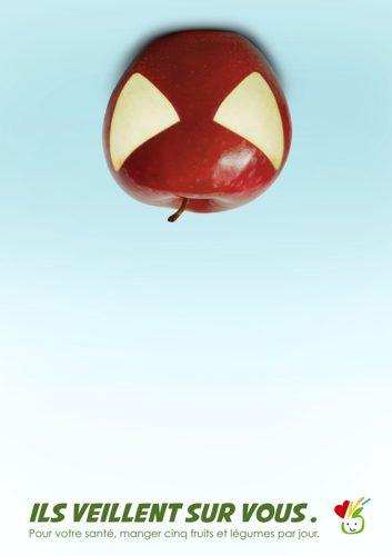 Plan National Nutrition Santé: Spiderman, Batman, TMNT