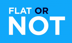KLM: Flat or Not