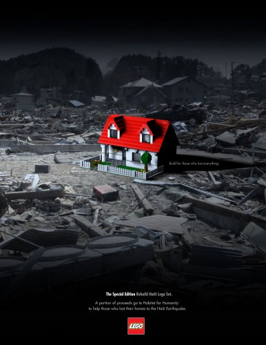 LEGO: Build for those who lost everything