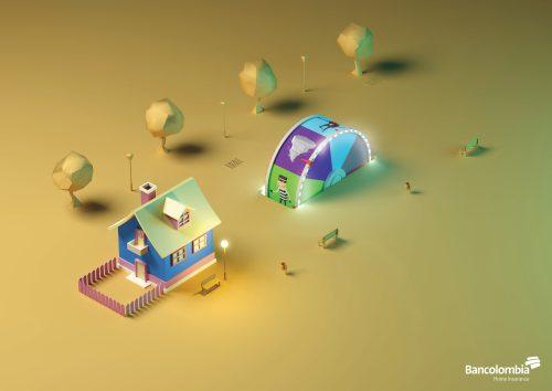 Bancolombia Insurance: Lucky Wheel