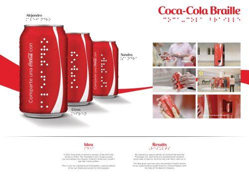 Coca-Cola : Coca-Cola Braille