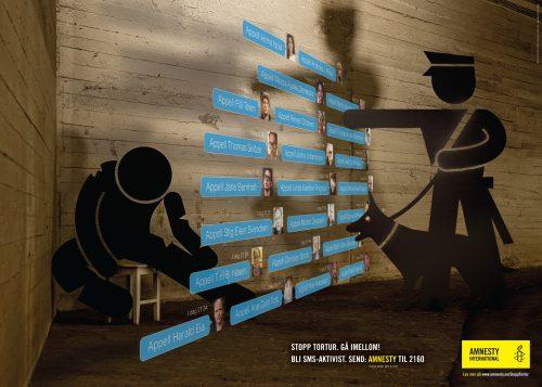 Amnesty International: Stop torture