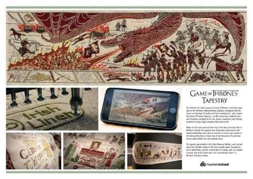 Tourism Ireland: The Game of Thrones Tapestry